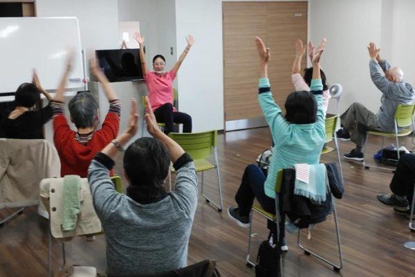 11/6(金)横浜市たまプラーザ地域ケアプラザの定期講座でした!