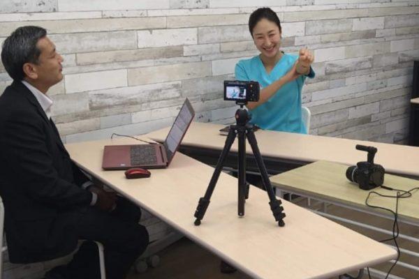 起業インタビュー動画の撮影でした!